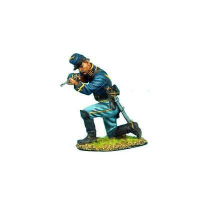 Коллекционный солдатик, Гражданская война США, Спешившийся Кавалерист стреляющий с колена