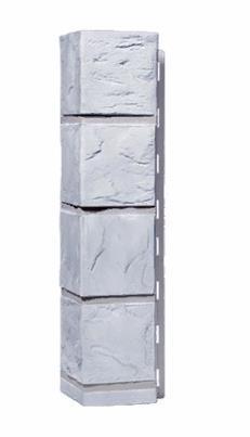 Угол Наружний Белый 470 мм Камень FINEBER