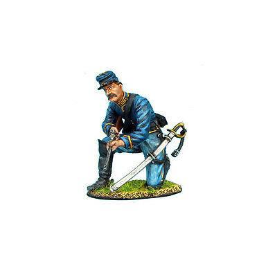 Коллекционный солдатик, Гражданская война США, Спешившийся Кавалерист на колене