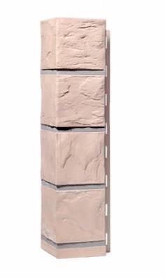 Угол Наружный Бежевый 470х115х115 мм Камень FINEBER