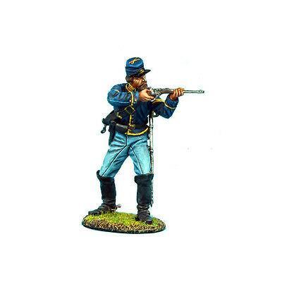 Коллекционный солдатик, Гражданская война США, Спешившийся Кавалерист стреляющий стоя