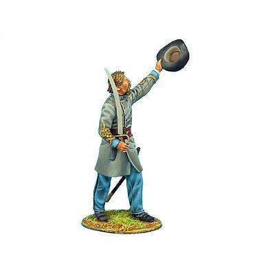 Коллекционный солдатик, Гражданская война США, Майор 13-го Алабамского полка, поднявший шляпу