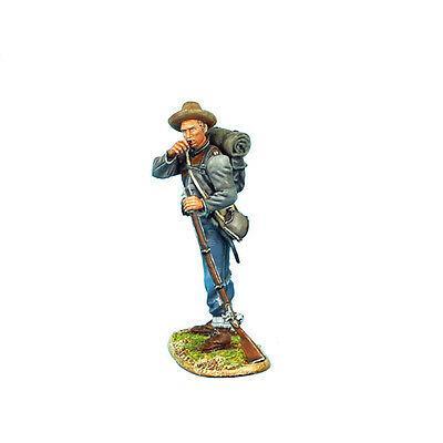 Коллекционный солдатик, Гражданская война США, Пехотинец 13-го Алабамского полка, засыпает порох