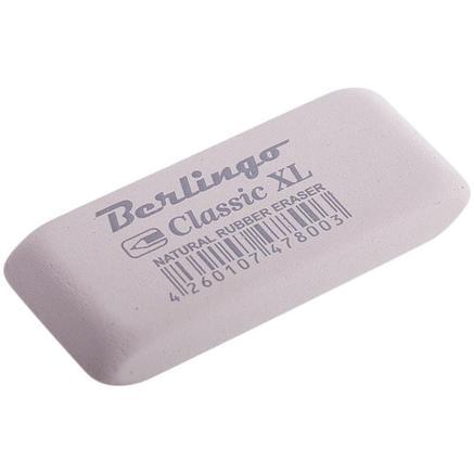 """Ластик Berlingo """"Classic XL"""", прямоугольный, каучук, 60*25*9мм, фото 2"""