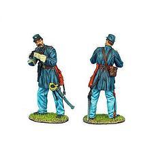 Коллекционный солдатик, Гражданская война США, Капитан Артиллерии Конфедерации
