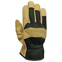 Перчатки кожаные комбинированные (крепкий захват)