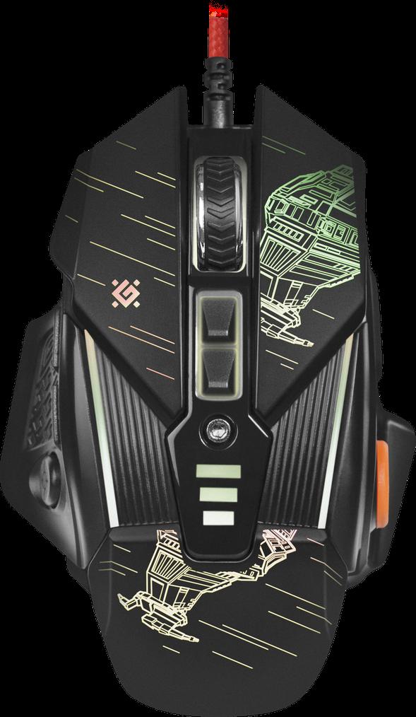 Мышь игровая Defender sTarx GM-390L (Black)
