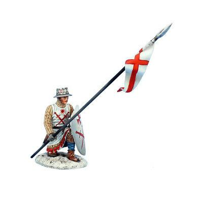 Коллекционный солдатик, Рыцари Крестоносцы, Ливонский брат в позиции на колене