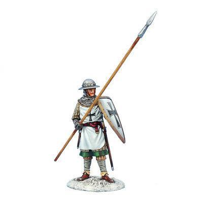 Коллекционный солдатик, Рыцари Крестоносцы, Копейщик с щитом Тевтонского ордена