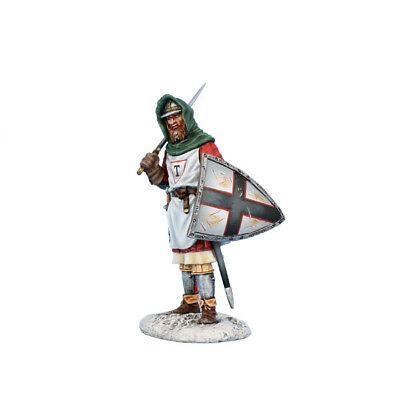 Коллекционный солдатик, Рыцари Крестоносцы, Солдат с мечом и щитом Тевтонского ордена