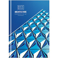 "Бизнес-блокнот А5 80л. OfficeSpace ""Путешествия. Architecture"", глянцевая ламинация"