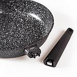 Сковорода с крышкой granhel Nature Series 24х5,5 см 1,9 л, фото 6