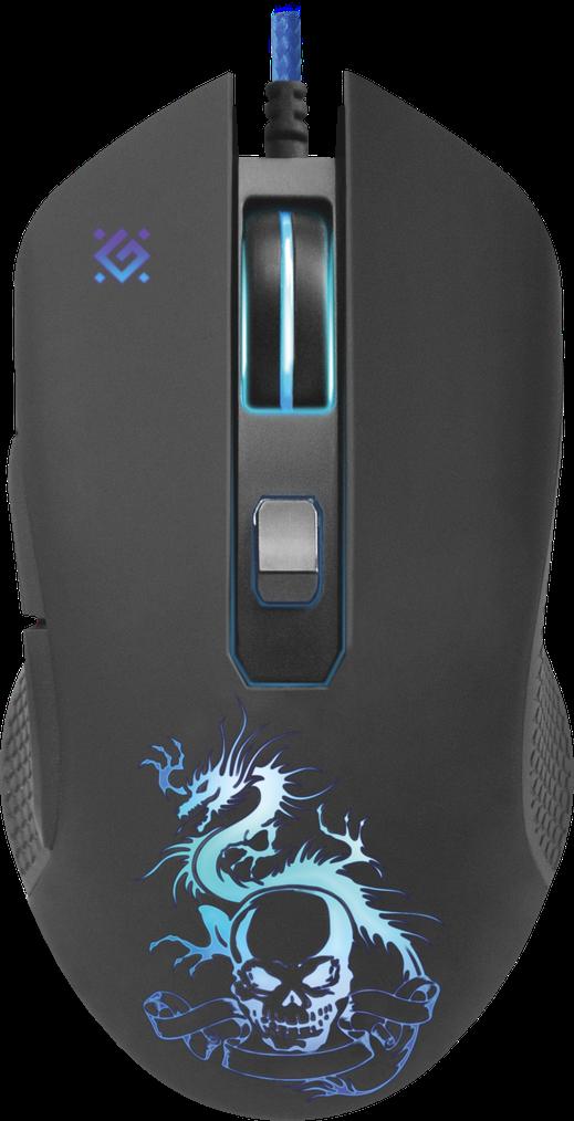 Мышь игровая оптическая Defender Sky Dragon GM-090L (Black)