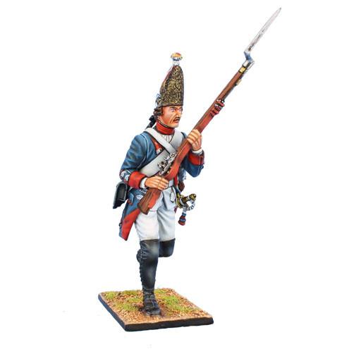 Коллекционный солдатик, Семилетняя война. Прусский Гренадер, на марше №5
