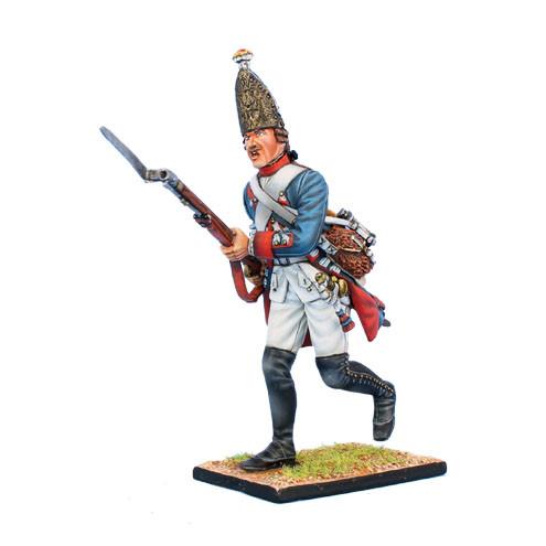 Коллекционный солдатик, Семилетняя война. Прусский Гренадер, на марше №2