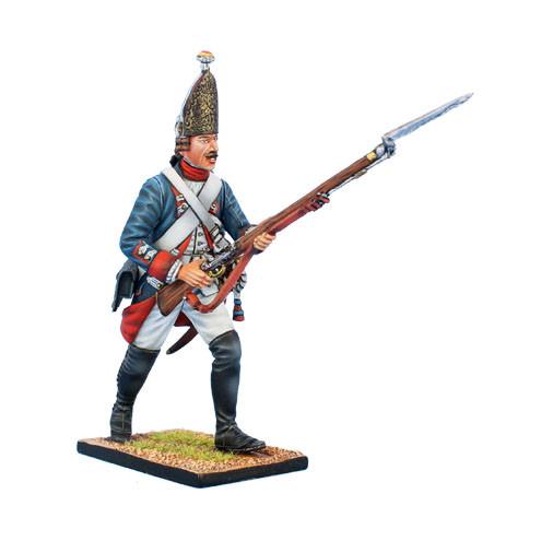 Коллекционный солдатик, Семилетняя война. Прусский Гренадер, на марше №1