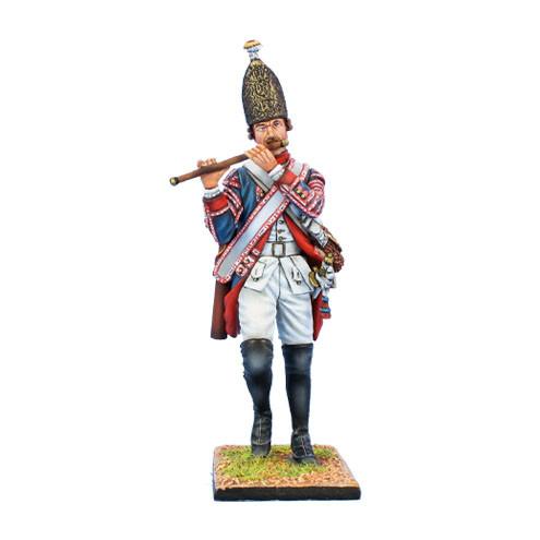 Коллекционный солдатик, Семилетняя война. Прусский Гренадерский флейтист