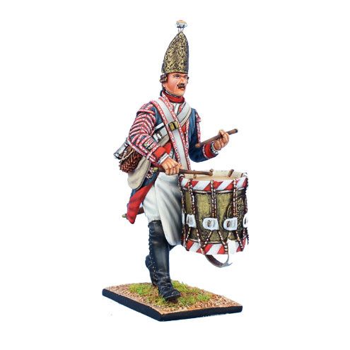 Коллекционный солдатик, Семилетняя война. Прусский Гренадерский барабанщик