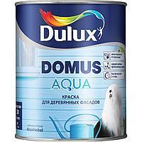 Краска Dulux DOMUS AQUA для деревянных фасадов полуматовая