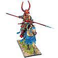 Коллекционный солдатик, Эпоха самураев. Конный самурай с Яри - Род Такэда, фото 2