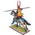 Коллекционный солдатик, Эпоха самураев. Конный самурай с Яри - Род Такэда, фото 3