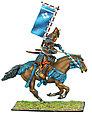 Коллекционный солдатик, Эпоха самураев. Конный самурай с катаной и Сасимоно -  Род Такэда, фото 2