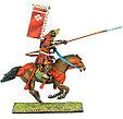 Коллекционный солдатик, Эпоха самураев. Конный самурай с Яри и Сасимоно -  Род Такэда, фото 2