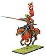 Коллекционный солдатик, Эпоха самураев. Конный самурай с Яри и Сасимоно -  Род Такэда, фото 4