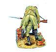 Коллекционный солдатик, Сталинградская битва Советский солдат, несущий раненого товарища, фото 3