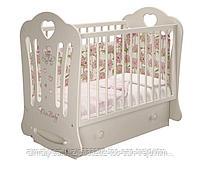 Детская кроватка Шарлотта 3 (маятник+ящик), фото 2