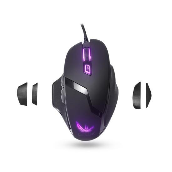 Мышь игровая Delux DLM-612OUB (Black)