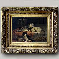 «Игра котят» Cornelis Raaphorst (1875-1954)