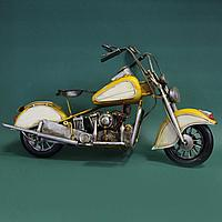 Античная классическая модель мотоцикла Ретро.