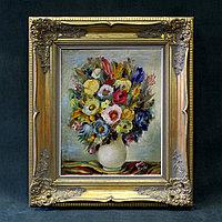 Натюрморт « Букет цветов в вазе » Raphael de Buck (1902-1986)Бельгия, середина ХХ века