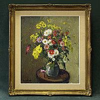 Натюрморт «Букет полевых цветов » Автор: Jules De Cort(1918-1999)