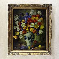 Натюрморт с цветами в вазе. Автор: Edmond Sanders (1898-1961)