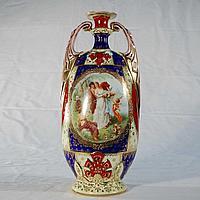 Изящная ваза в дворцовом стиле Венская королевская фарфоровая мануфактура