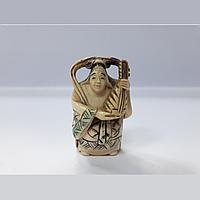 Нэцкэ Бэндзайтэн богиня счастья, любви и искусства.