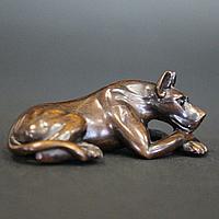 Нэцкэ Доберман, Собака символ отваги, храбрости, бескорыстия и справедливости. Ценная порода дерево.