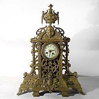 Кабинетные часы в стиле Историзм Часовая мастерская Japy Freres