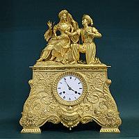 Кабинетные часы в стиле Карла Х «Влюбленная пара»