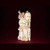 Окимоно Аи Цзы - дословно «учитель любви» Слоновая кость.