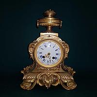 Каминные часы в стиле Историзм Часовая мастерская Roblin & Fils Freres