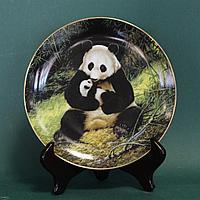 Панда.Подлинная коллекционная тарелка, с персональным номером.