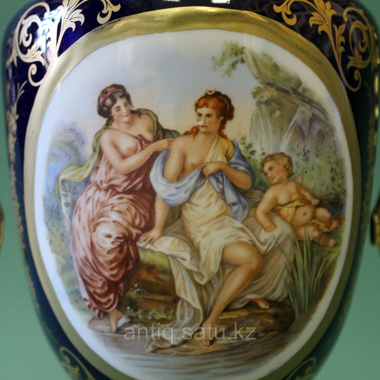 Парадная ваза в стиле Севр. Мануфактура LUMEDART - фото 4