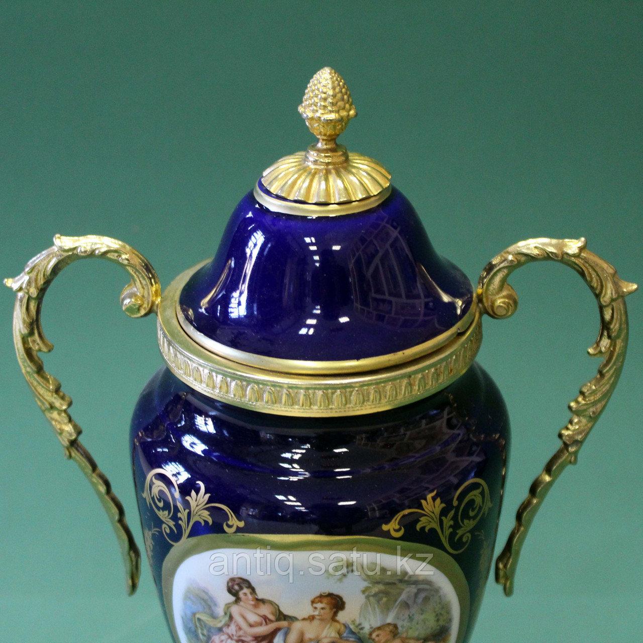 Парадная ваза в стиле Севр. Мануфактура LUMEDART - фото 6