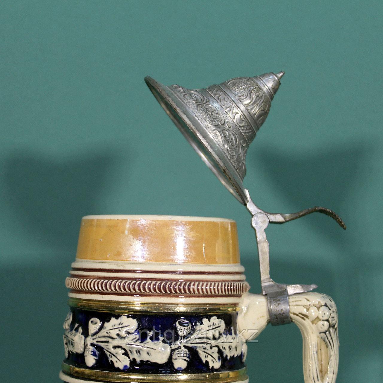 КОЛЛЕКЦИОННАЯ ПИВНАЯ КРУЖКА «ИГРА НА ЦИТРЕ» Мануфактура по изготовлению керамических изделий KING. - фото 3