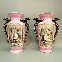 Парадные вазы. Фарфоровая мануфактура Old Paris