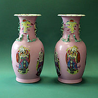 Парные вазы «3 звездных старца»