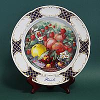 Редкая коллекционная тарелка-блюдо большого размера фирмы Ширндинг ( Schirnding) Бавария.